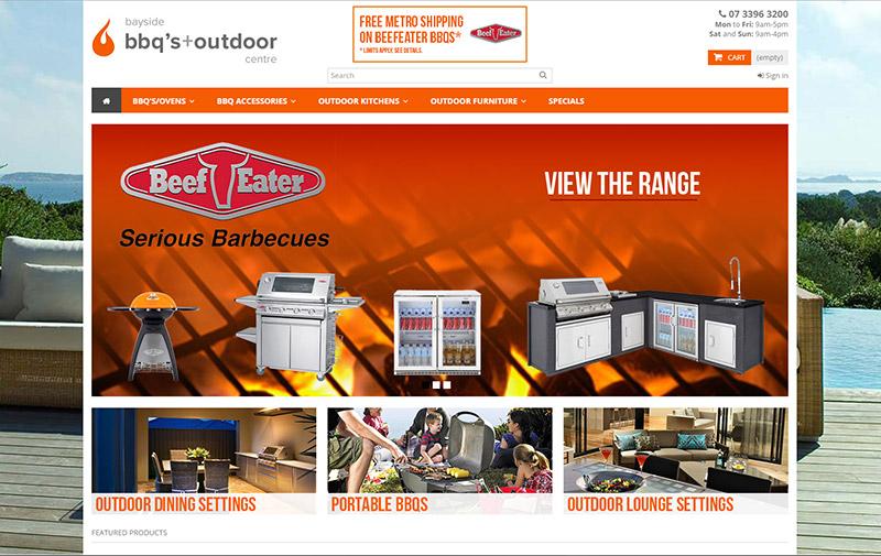Bayside BBQ's homepage